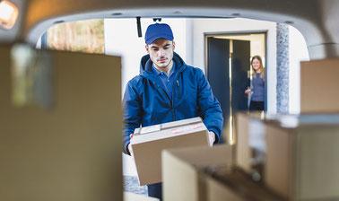 Distribución: entrega de productos
