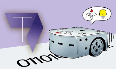 Die digitale Welt mit dem Thymio Roboter entdecken