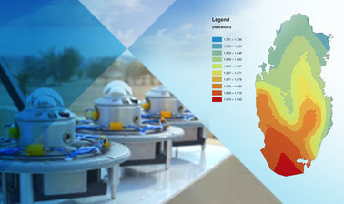 Solar Resource Assessment in Desert Climates