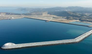 Diseño de diques rompeolas con cubípodos