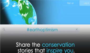 #EarthOptimism