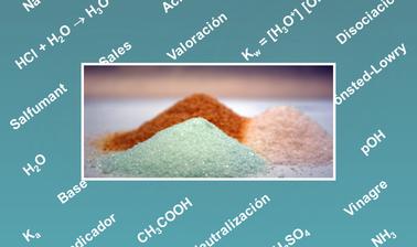 Sales: reacciones químicas y aplicaciones
