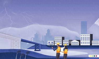 Análisis del riesgo de desastres y cambio climático en proyectos de infraestructura