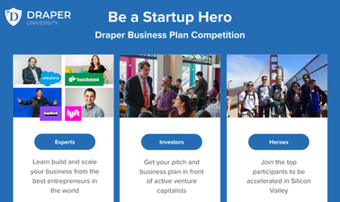be the startup hero: draper university business plan competition
