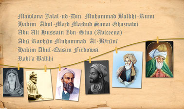 Introducing Six Prominent Scientific and Literary Figures of Afghanistan (10 – 13 centuries)