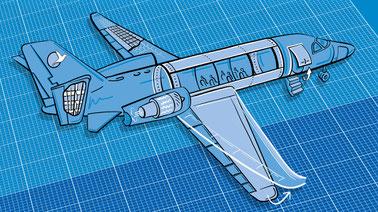 Digital material aerospace structures