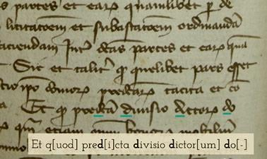 Monasteries, Schools, and Notaries, Part 1: Reading the Late Medieval Marseille Archive