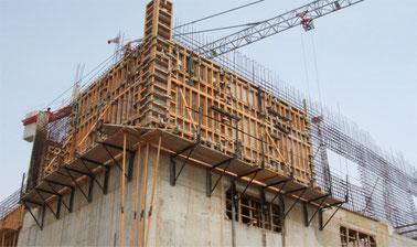 Introducción a los encofrados y las cimbras en obra civil y edificación