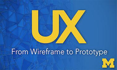 UX Design: From Wireframe to Prototype