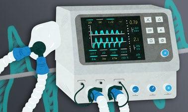 Ventilación mecánica para pacientes con COVID-19