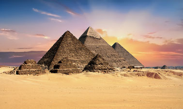 pyramids of giza ancient egyptian art and archaeology