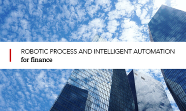 Robotic process and intelligent automation for finance