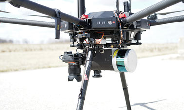 UAS-Based Mapping: Laser Mapping