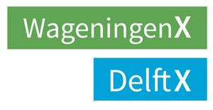 Logo de Delft University & Wageningen University